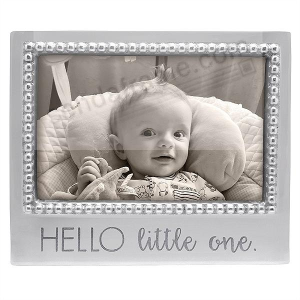 HELLO LITTLE ONE STATEMENT 6x4 frame by Mariposa®