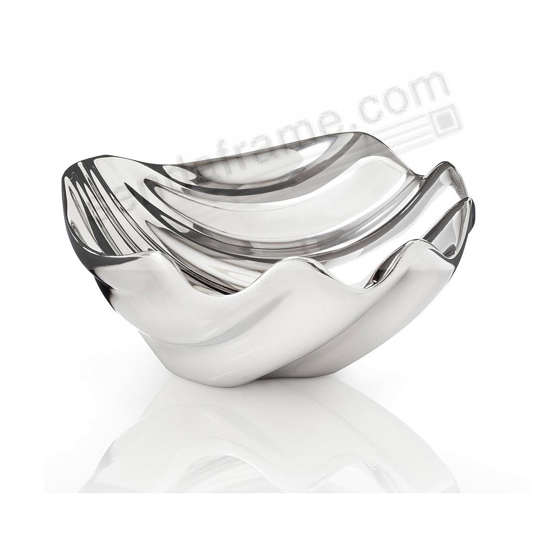 The OCEANA SEA SHELL DIP BOWL crafted by Nambe®