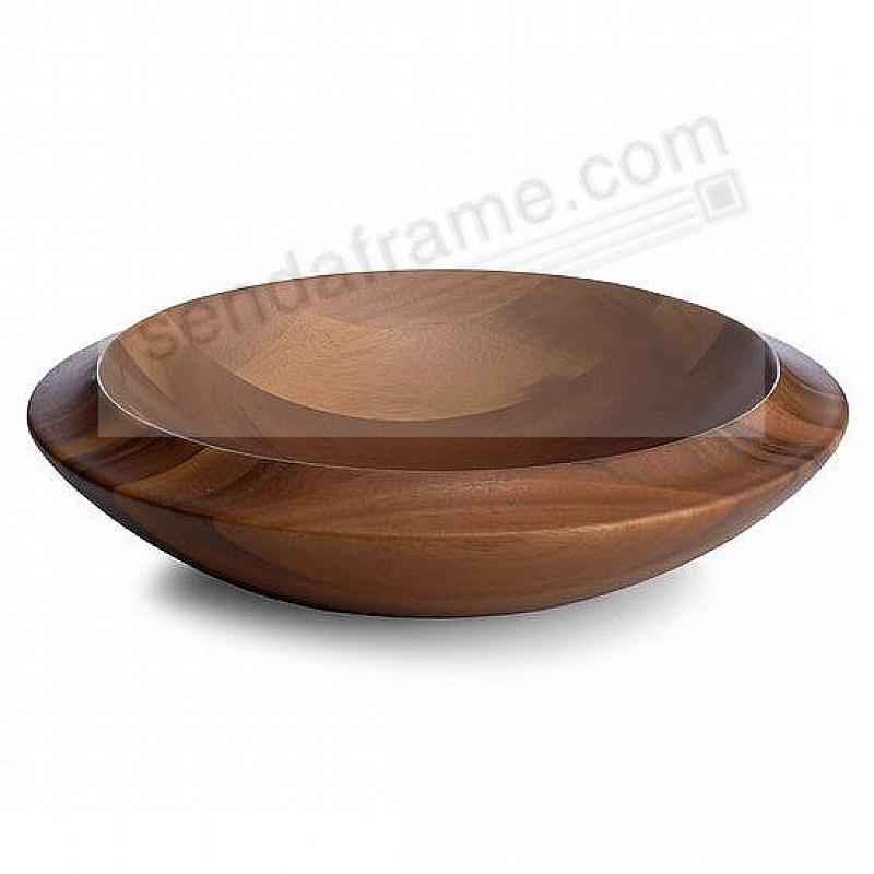The SKYE CENTERPIECE BOWL crafted by Nambe®