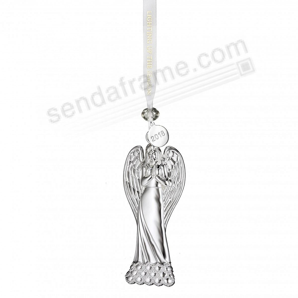 2018 Silver ANGEL Ornament by Waterford®
