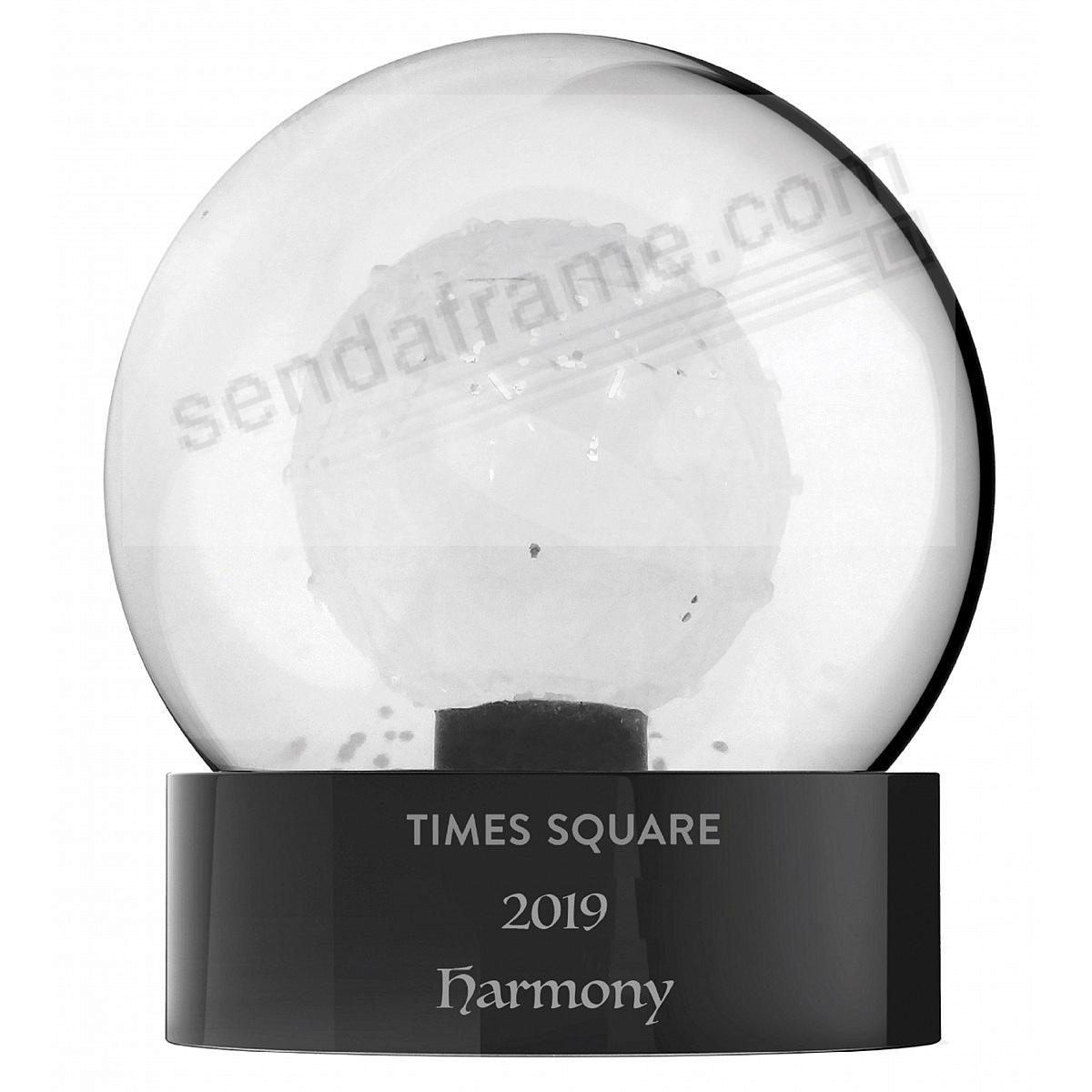 2019 TIMES SQUARE SNOW GLOBE by Waterford®