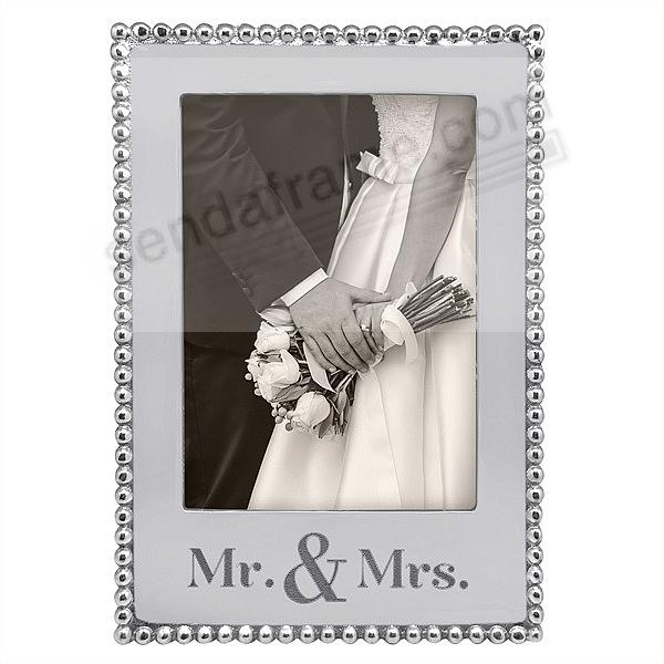 MR. + MRS. STATEMENT frame for your 5x7 photo by Mariposa®