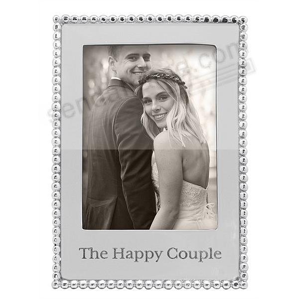 THE HAPPY COUPLE frame for your 5x7 photo by Mariposa®