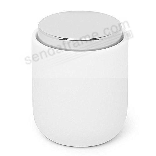 Junip Resin Amenity Canister White/Chrome by Umbra®