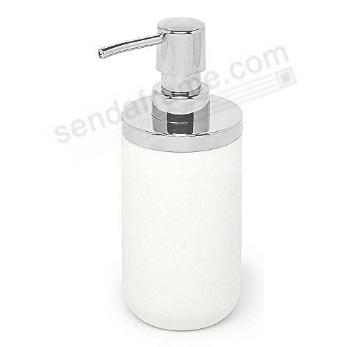 Junip Refillable Soap Pump White/Chrome by Umbra®