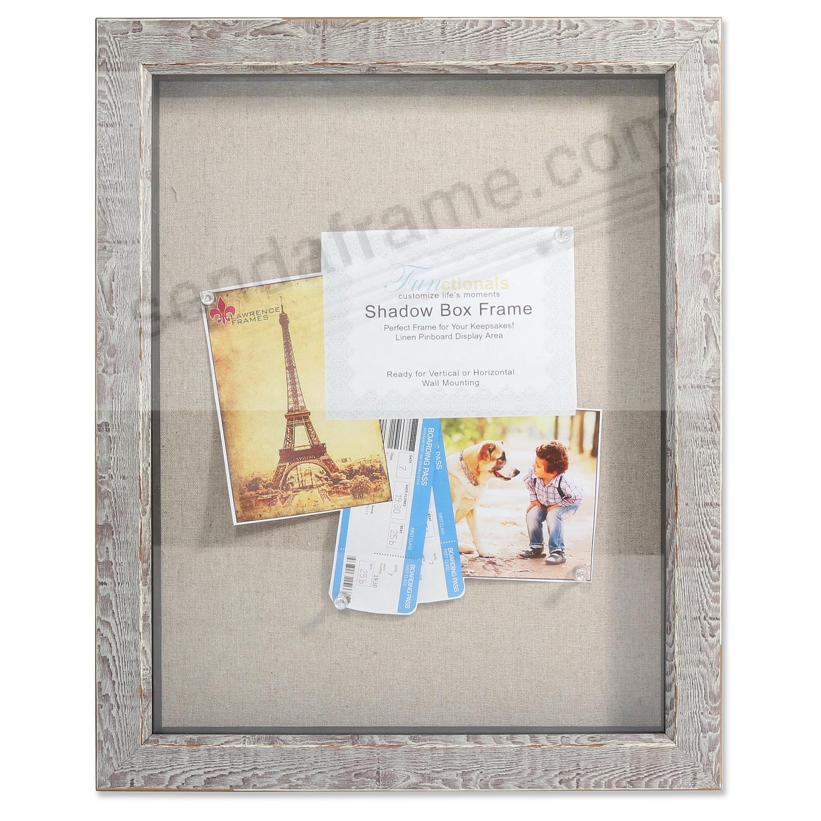 Weathered-Birch 11x14 Craft ShadowBox by Lawrence®