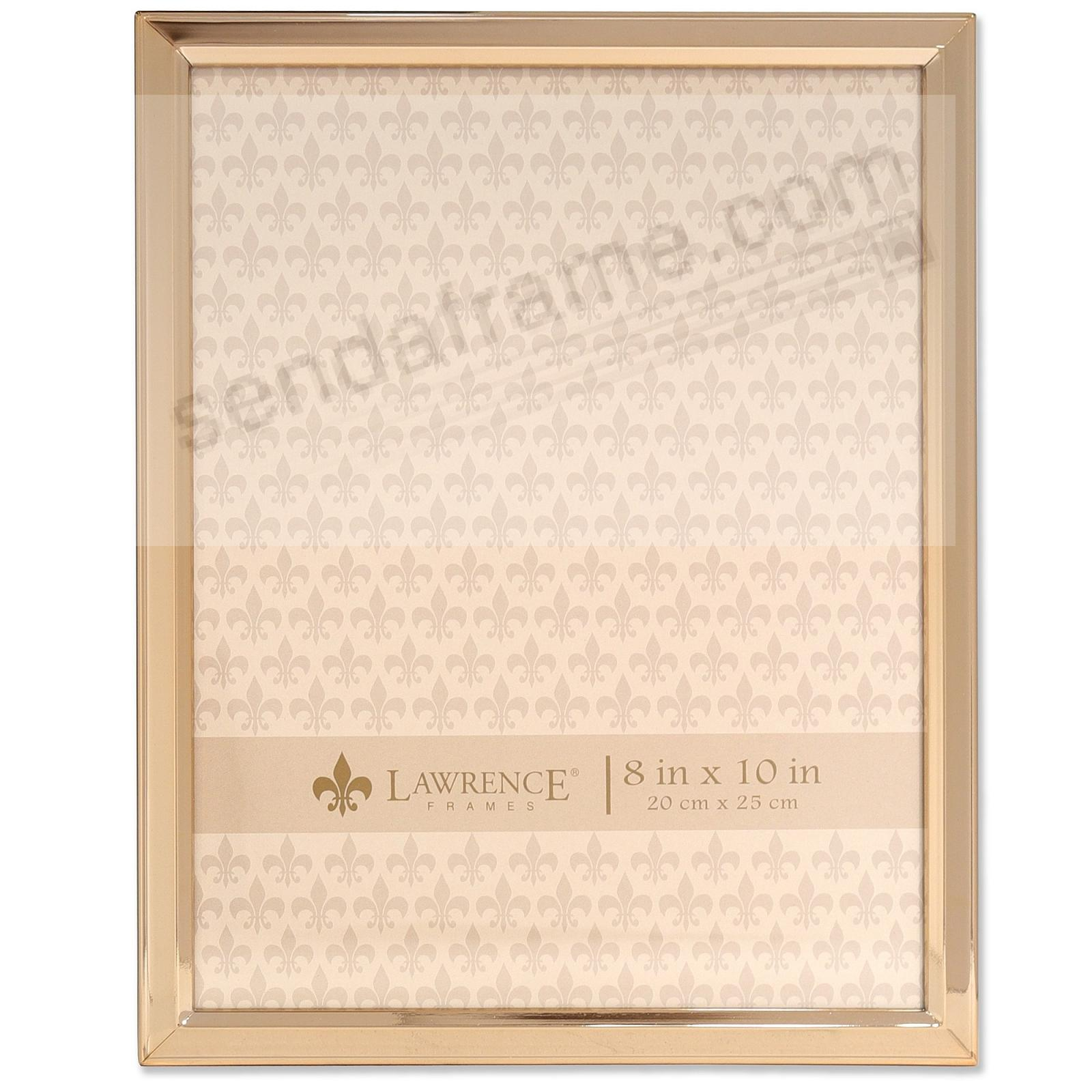Bevelled Border Gold finish 8x10 frame by Lawrence®
