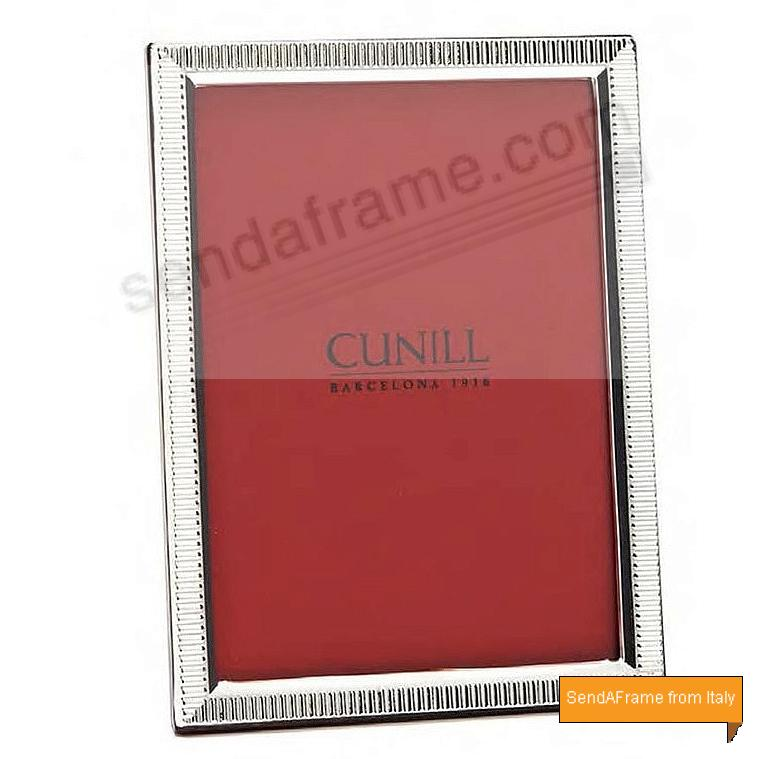 LINCOLN Fine Sterling Silver 5x7 Frame by Cunill®