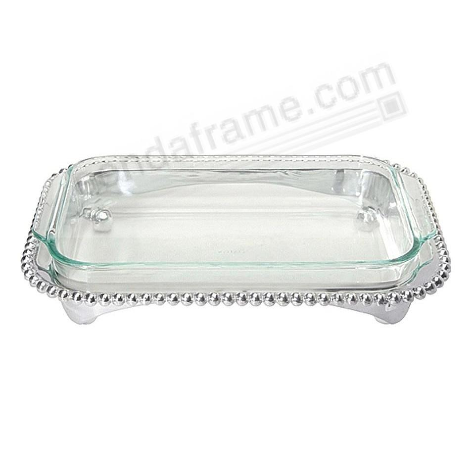 BEADED OBLONG CASSEROLE CADDY by Mariposa®