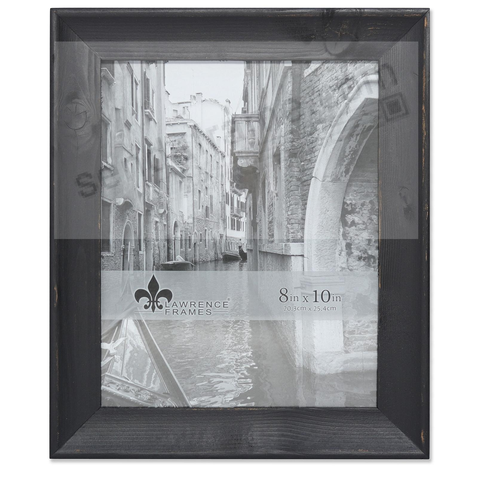 Weathered WHITNEY Black 8x10 Frame by Lawrence®
