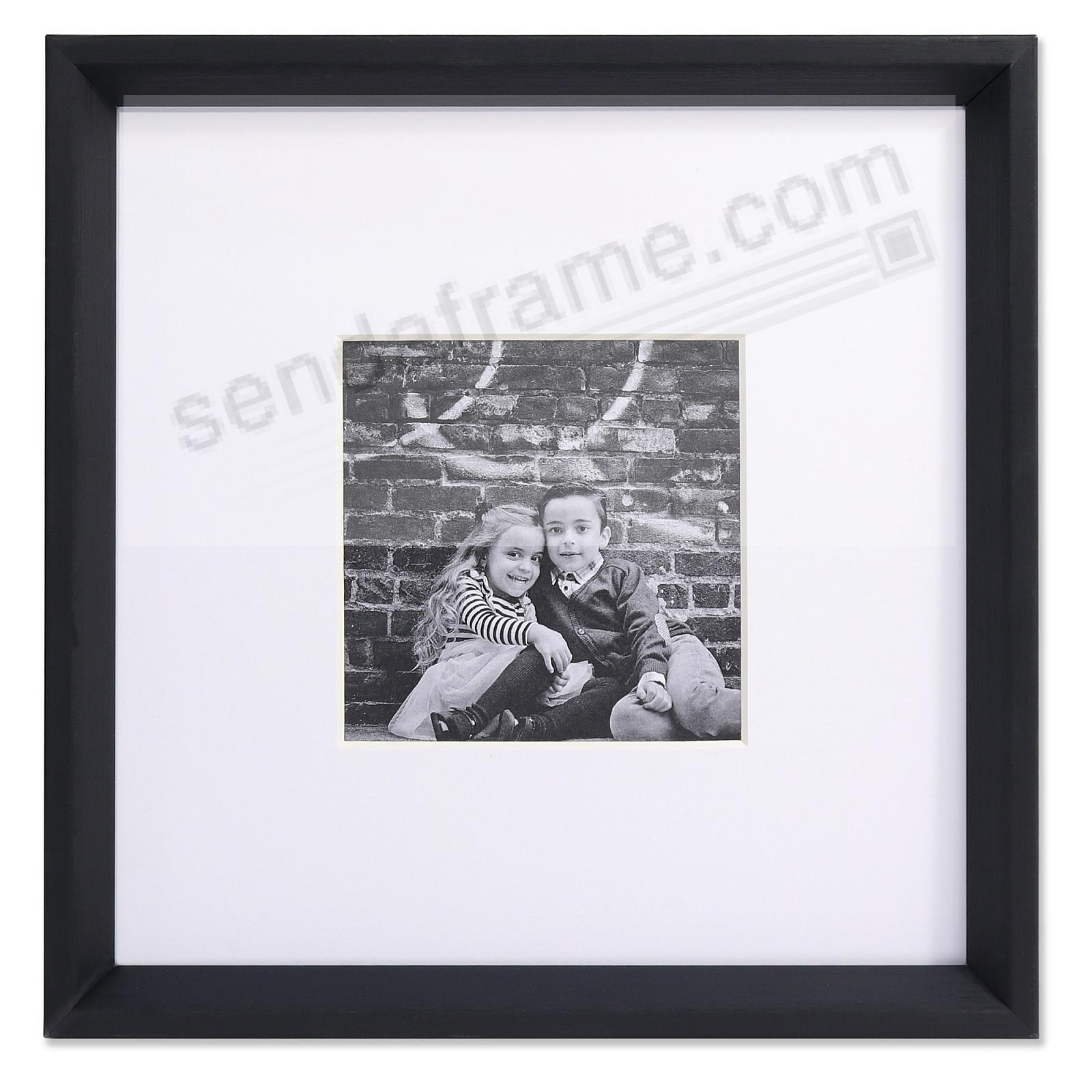 GALLERY BLACK matted 5x5 by Lawrence®