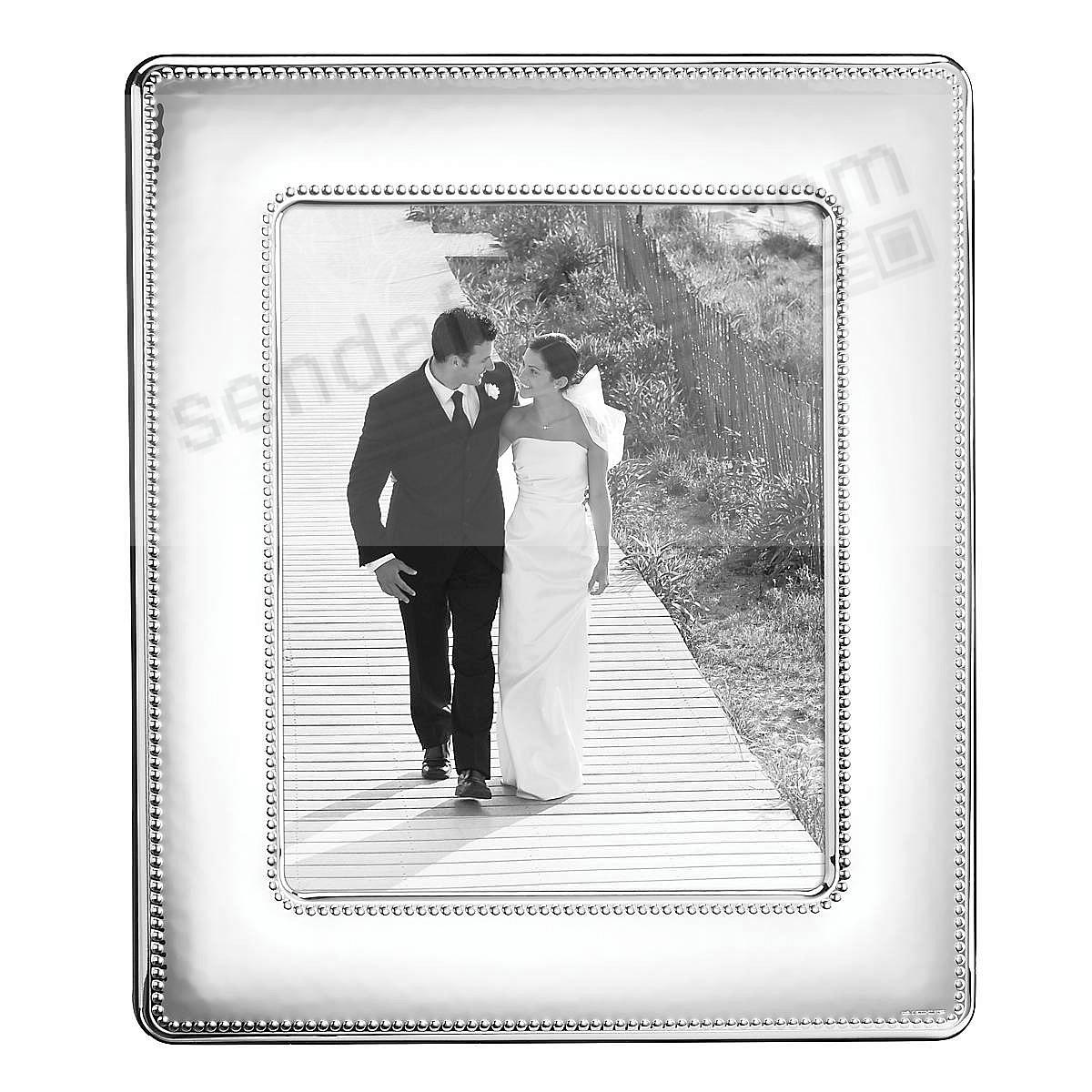 VENICE Silverplate w/Wood back 8x10 frame by Reed & Barton®