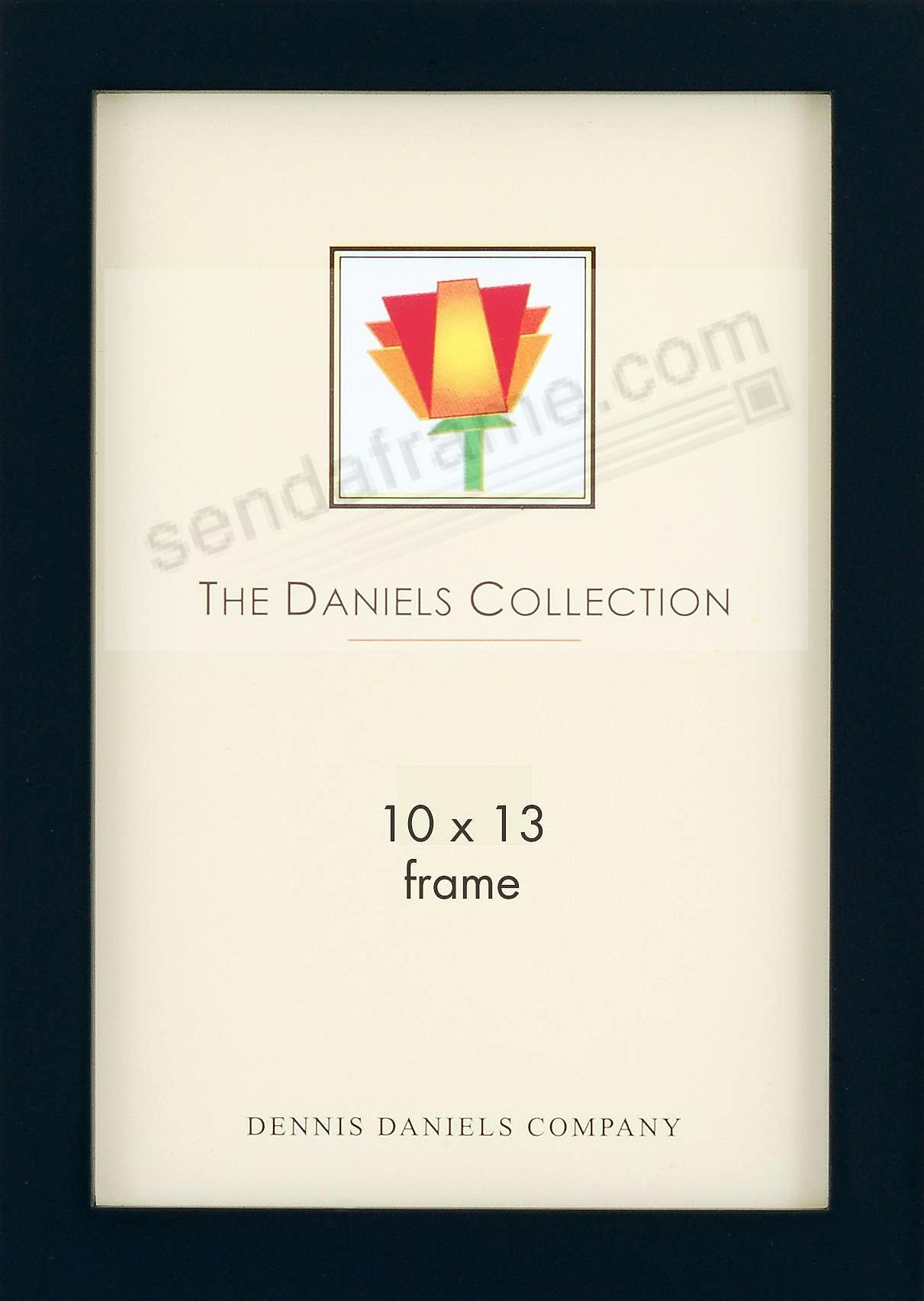 The Original DANIELS W41: Square Corner GALLERY WOODS 10x13 black frame by Dennis Daniels®