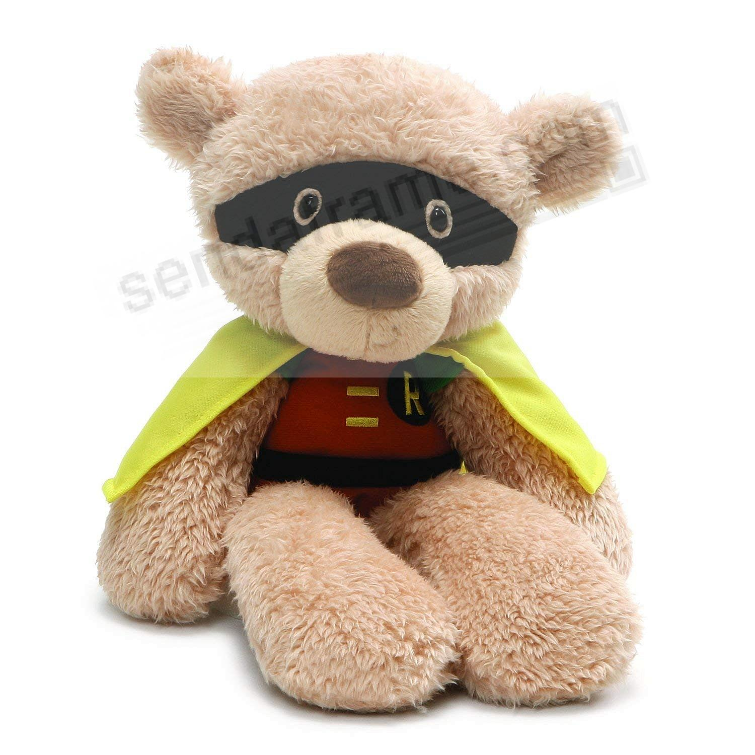 DC Comics FUZZY ROBIN® 14-inch plush bear toys by Gund®