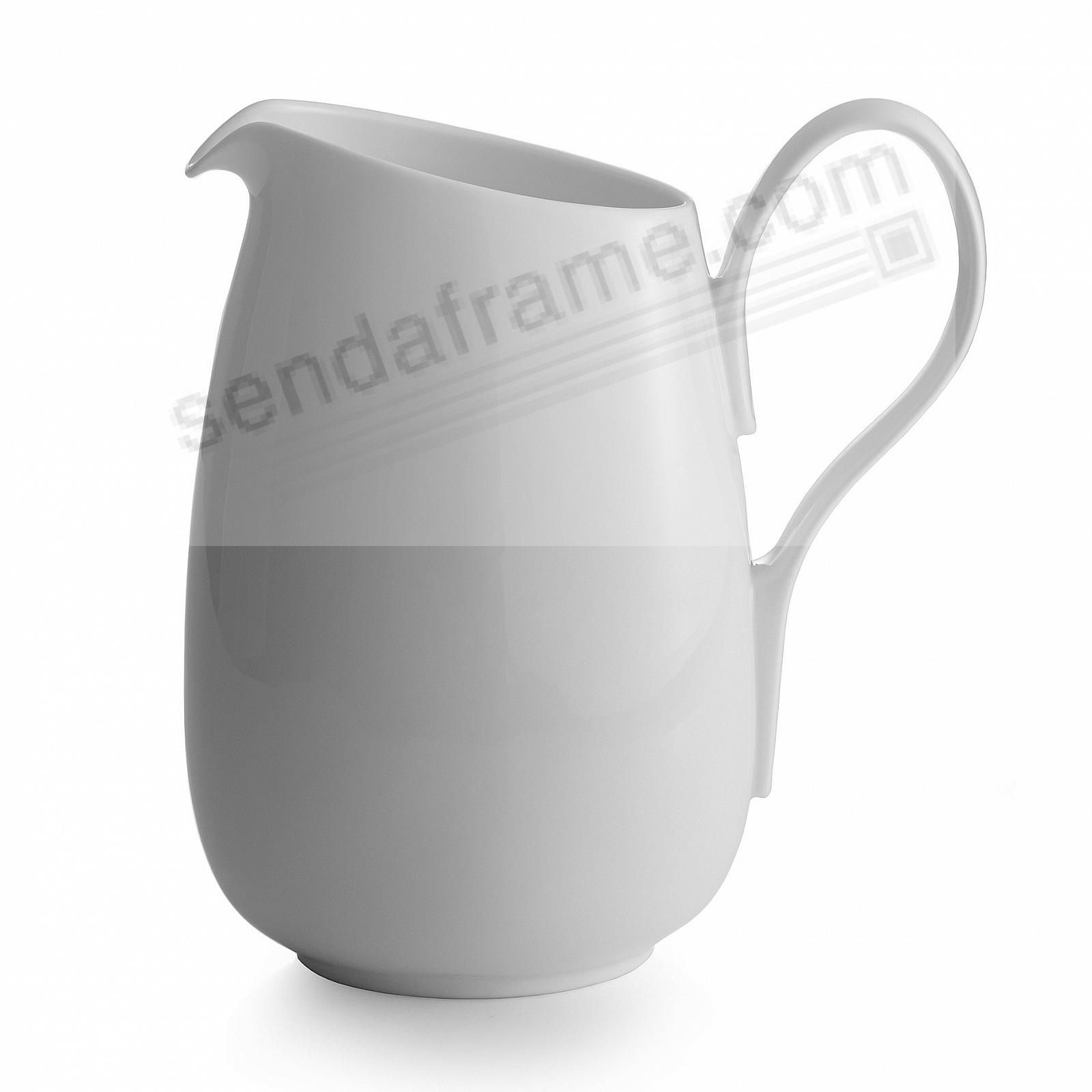 The SKYE PITCHER (Large) crafted by Nambe®