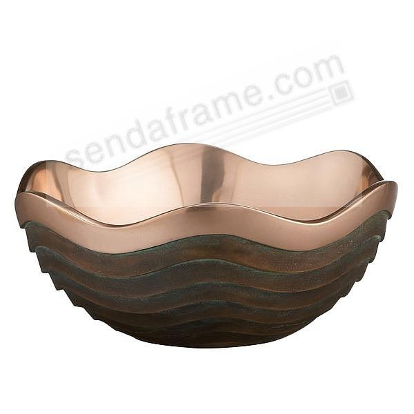 The Original 15inch COPPER CANYON BOWL (LARGE) crafted by Nambe®