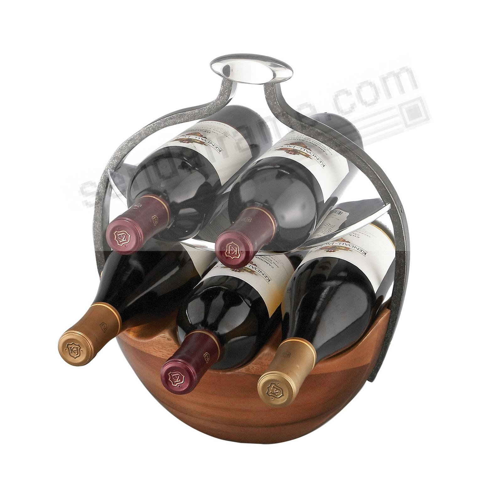 The Original ANVIL WINE BASKET crafted by Nambe®