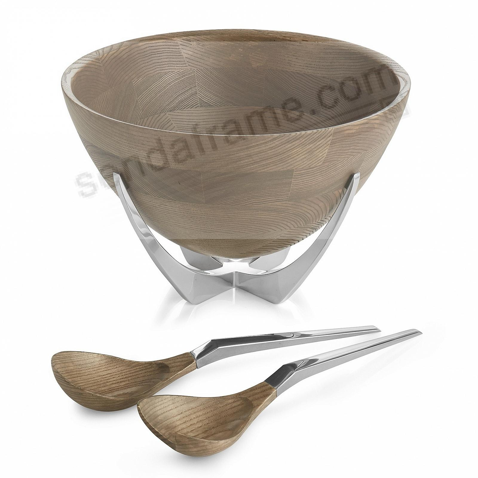 The Original CABO SALAD BOWL w/SERVERS by Nambe®