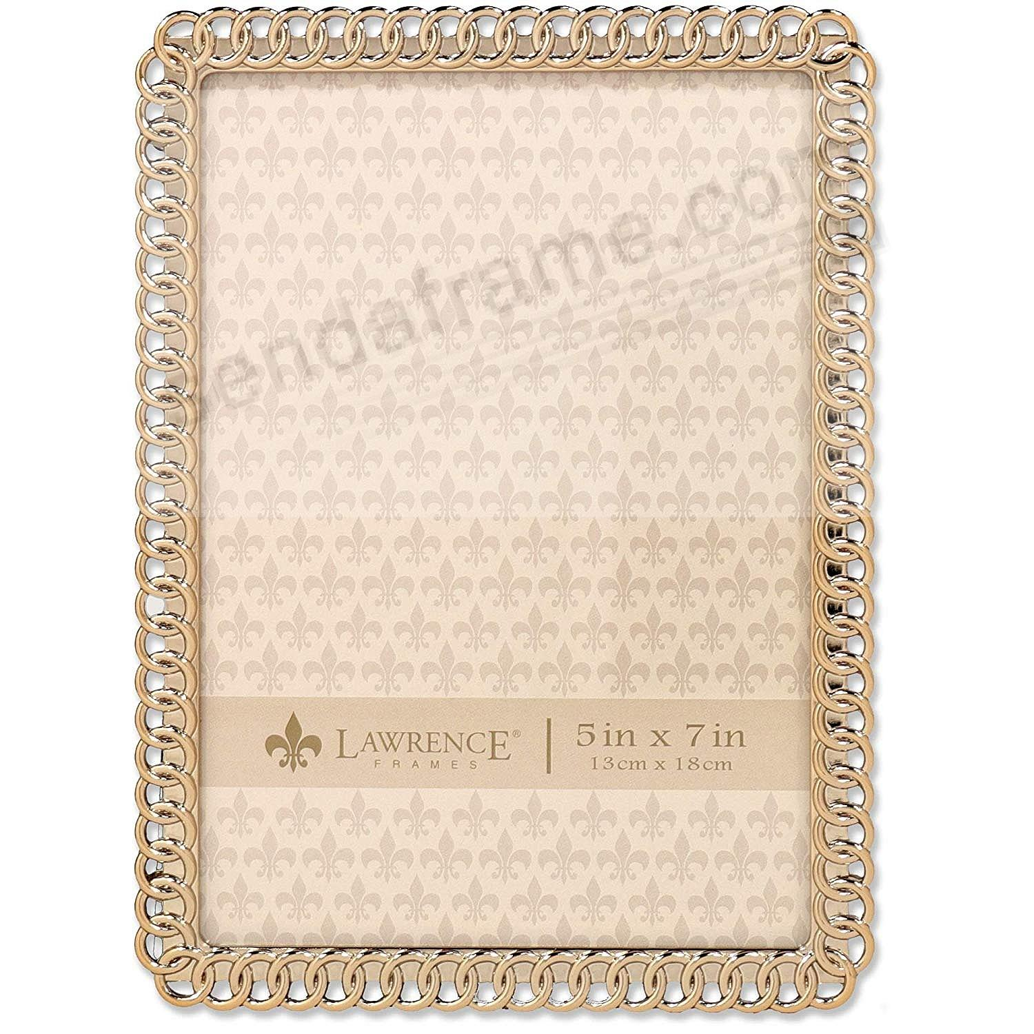 ETERNITY RINGS goldplate 5x7 frame by Lawrence®