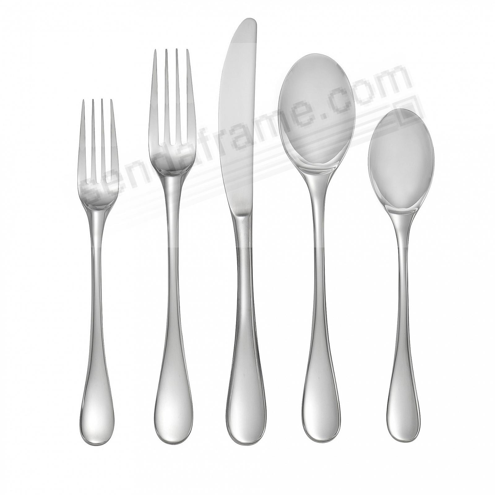 The SKYE 5PC Place Setting 18/10 Stainless by Nambe®