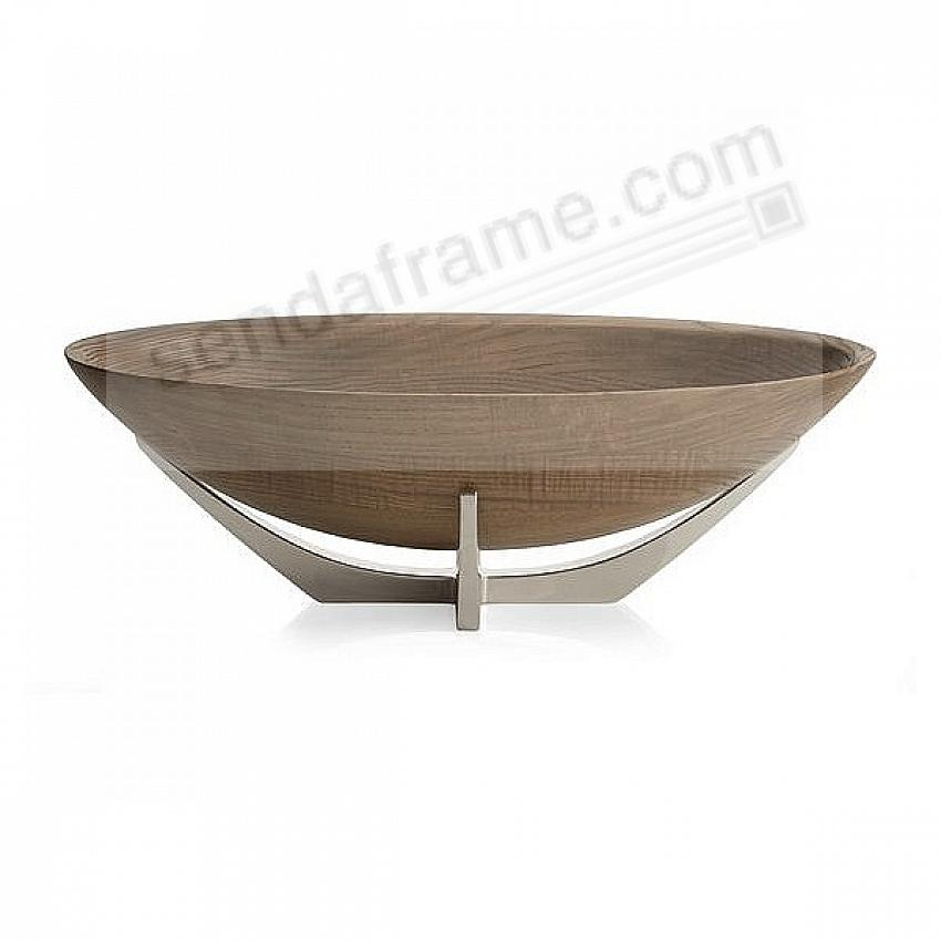 The CABO OVAL SERVING BOWL by Nambe®