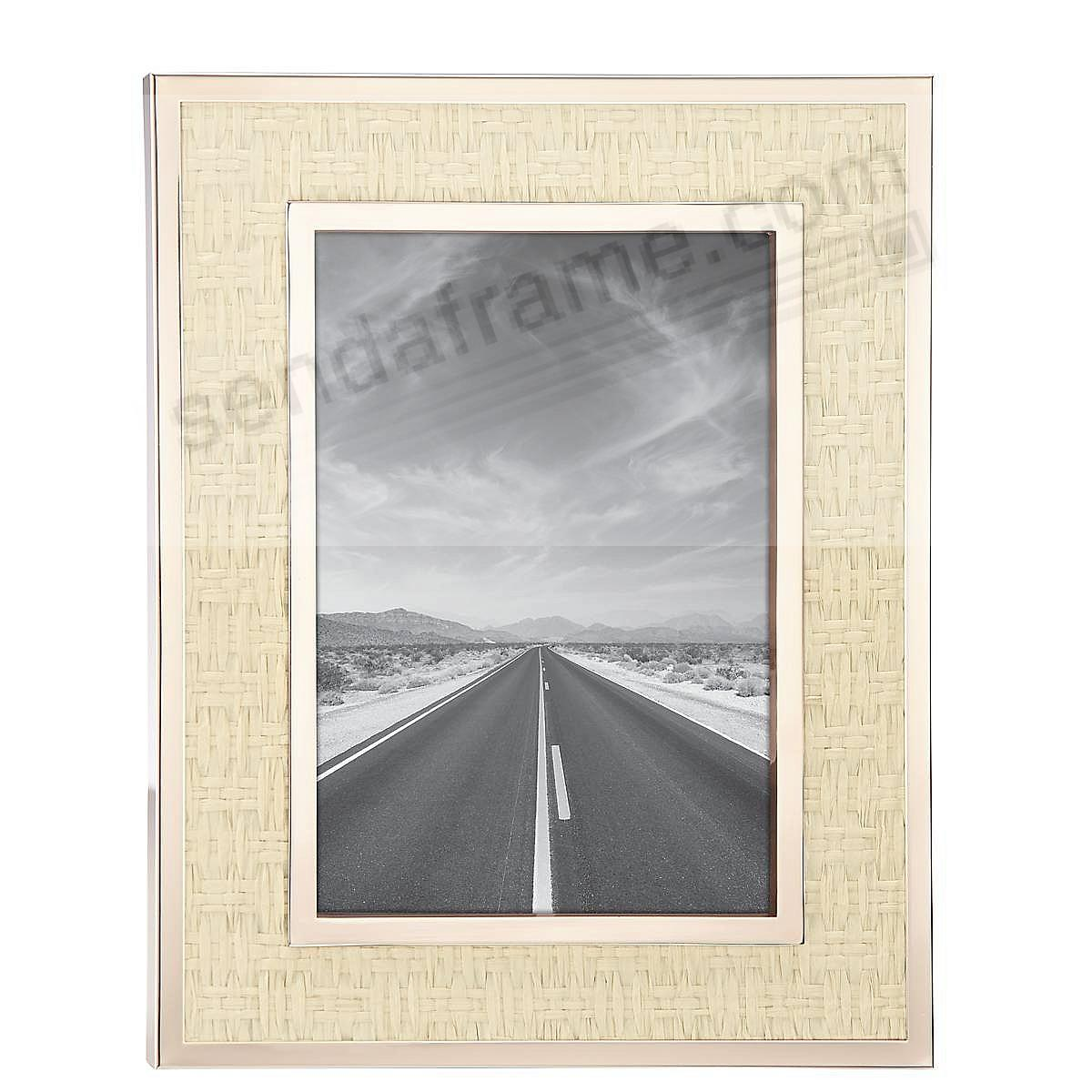 Picture Perfect™ GOLD 5x7 frame by kate spade new york®