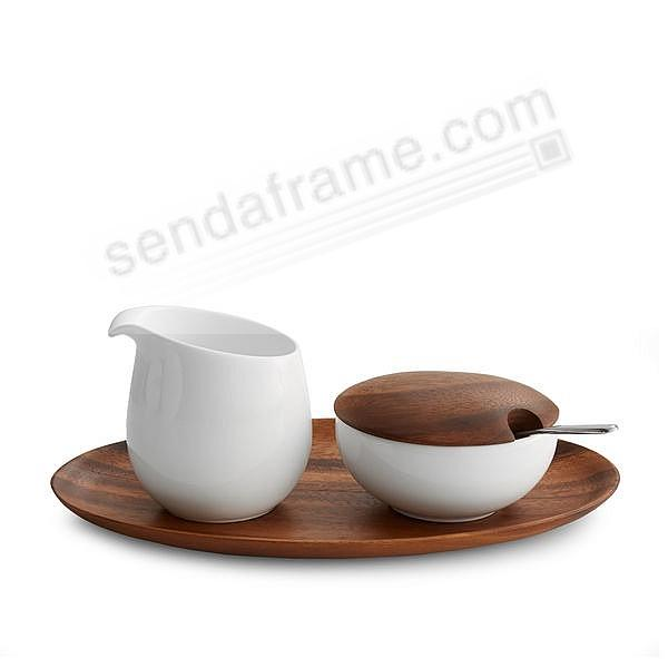 SKYE SUGAR + CREAMER crafted by Nambe®