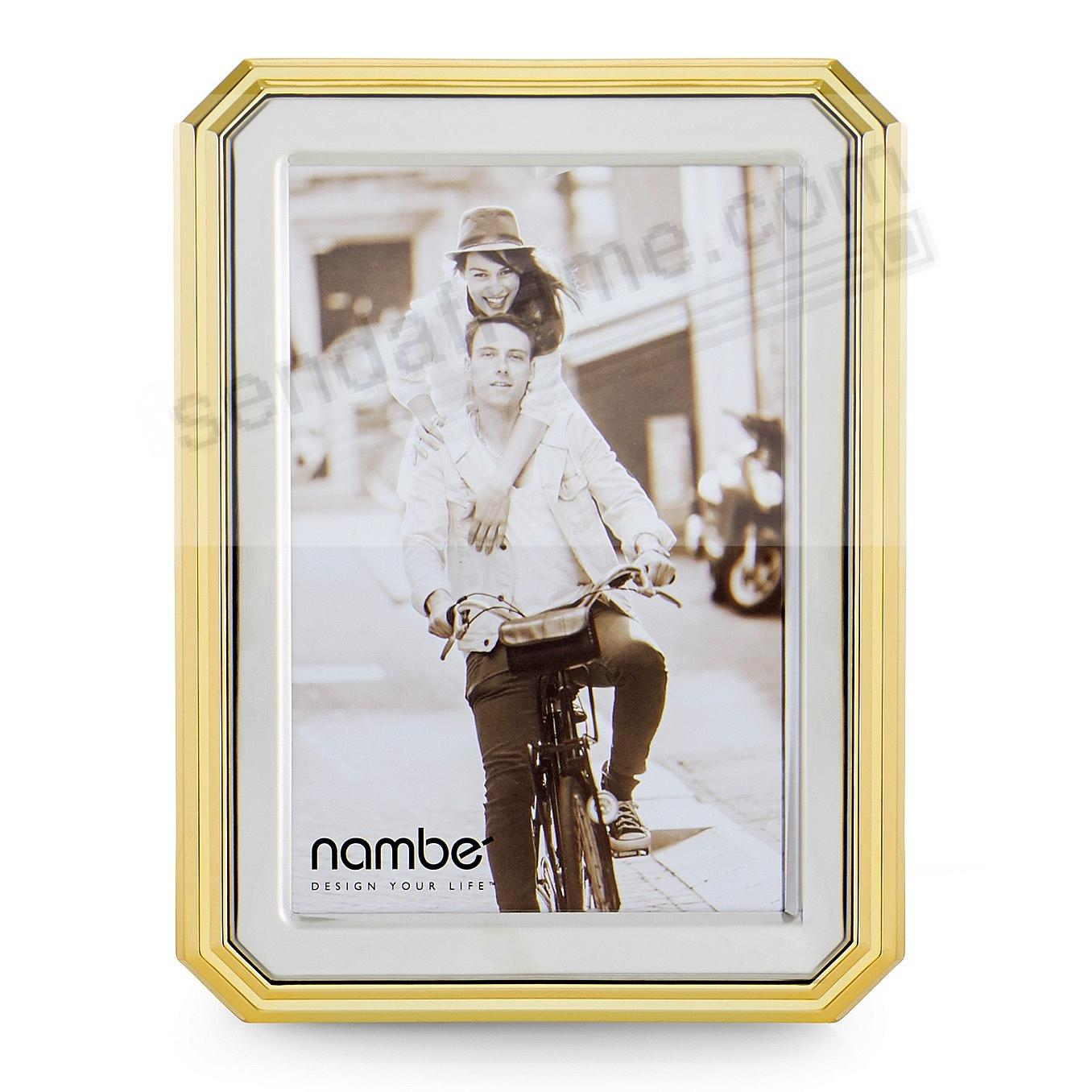 The GLEASON 4x6 frame by Nambe