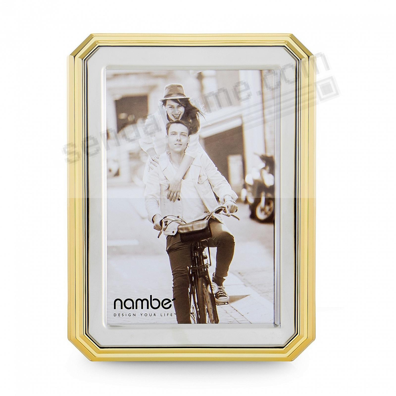 The GLEASON 5x7 frame by Nambe