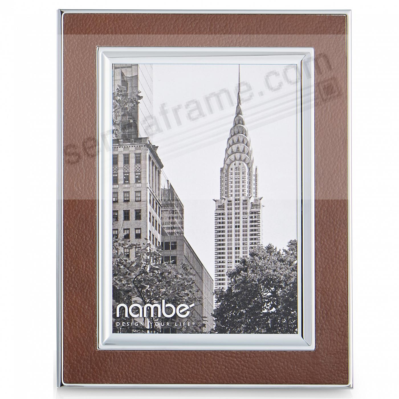 The NOVARA 5x7 frame by Nambe