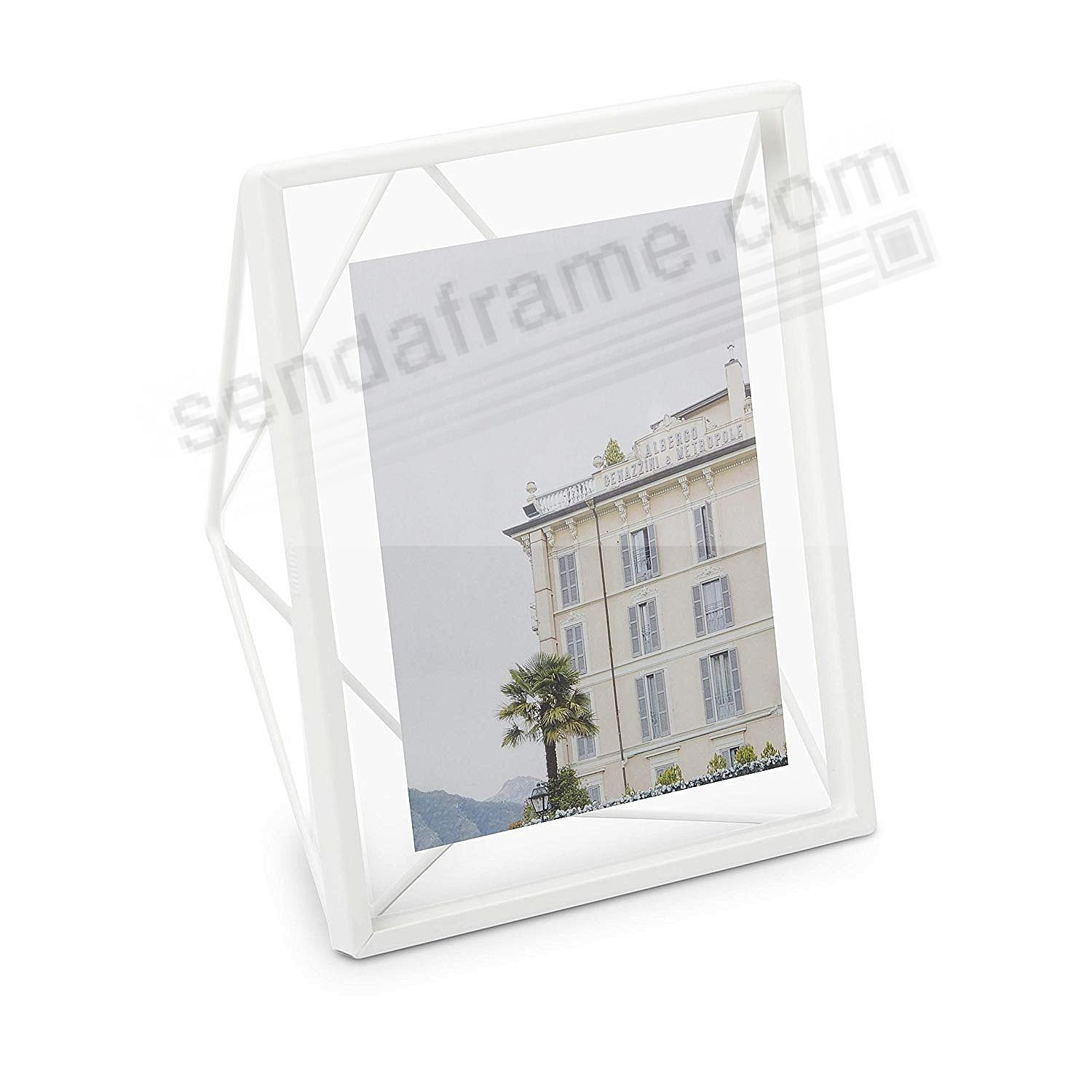 The Original PRISMA Photo Display White 8x10 frame by Umbra®