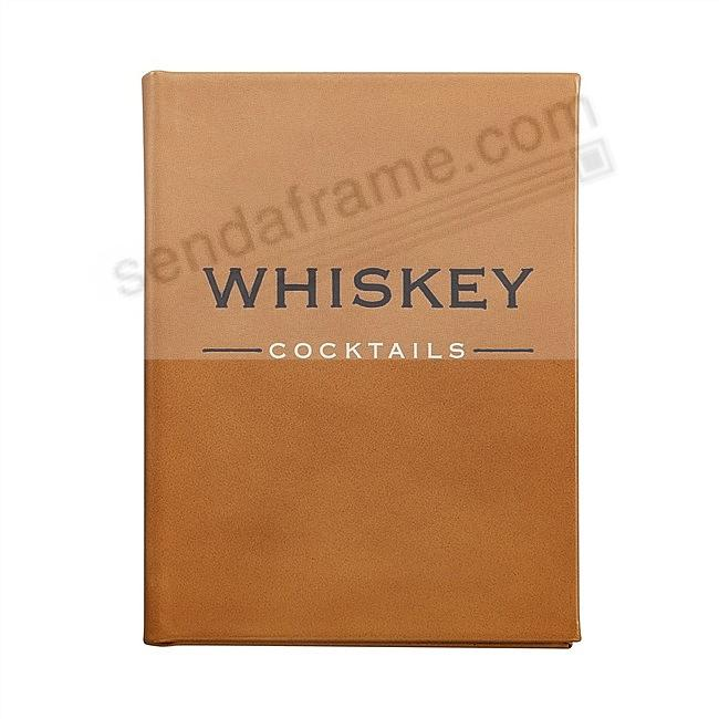 Whiskey Cocktails<br>Special Edition in Cognac Fine Leather