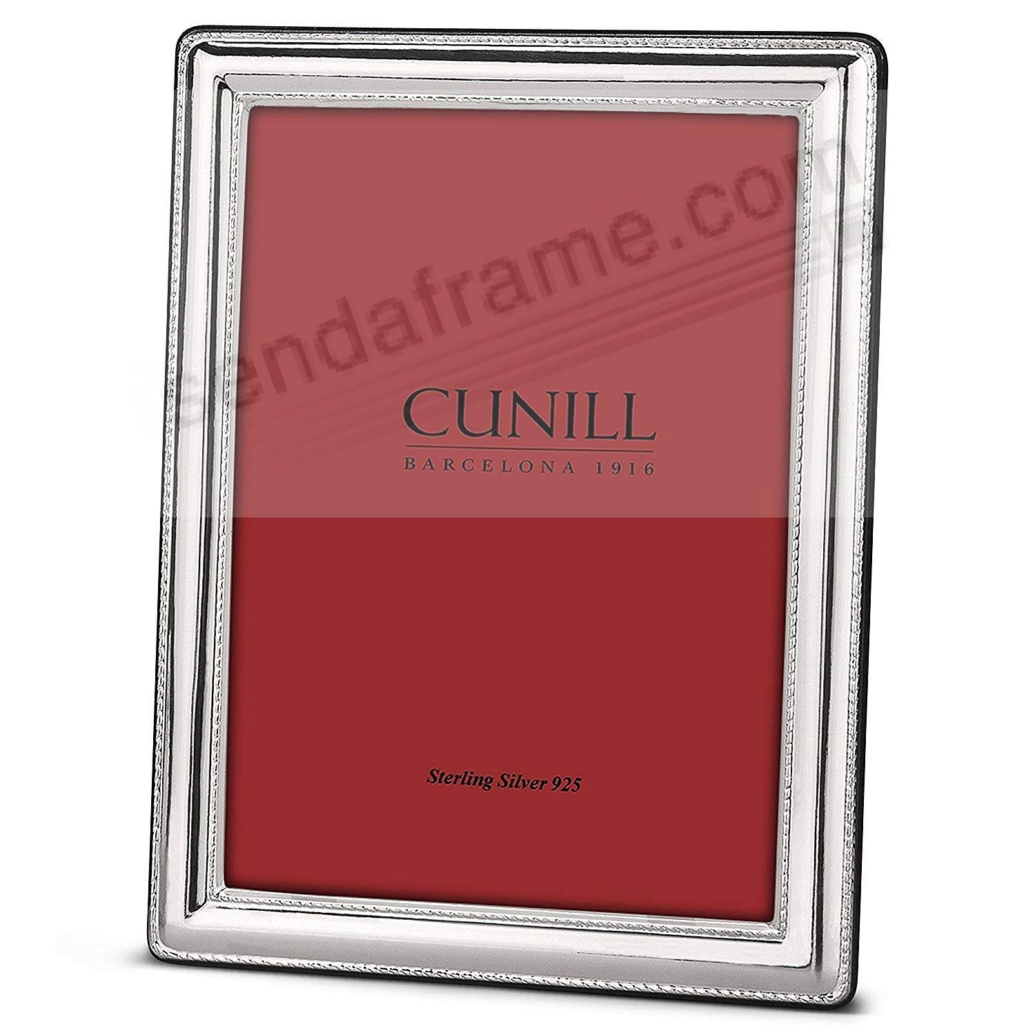 FINESSE Fine Sterling Silver 5x7 Frame by Cunill® Italy