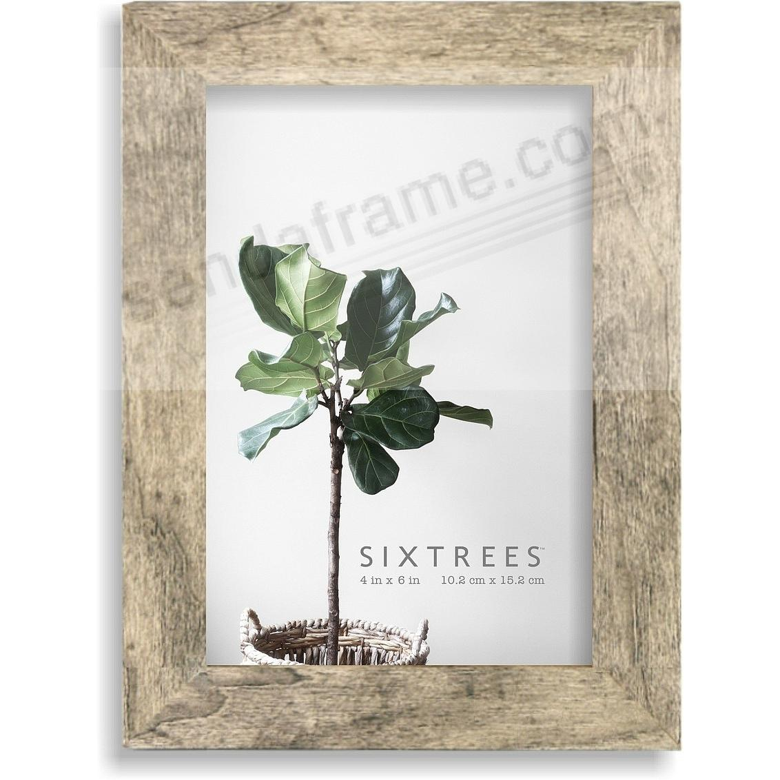 Weathered Grey/White LAWRENCE 4x6 Frame by Sixtrees®