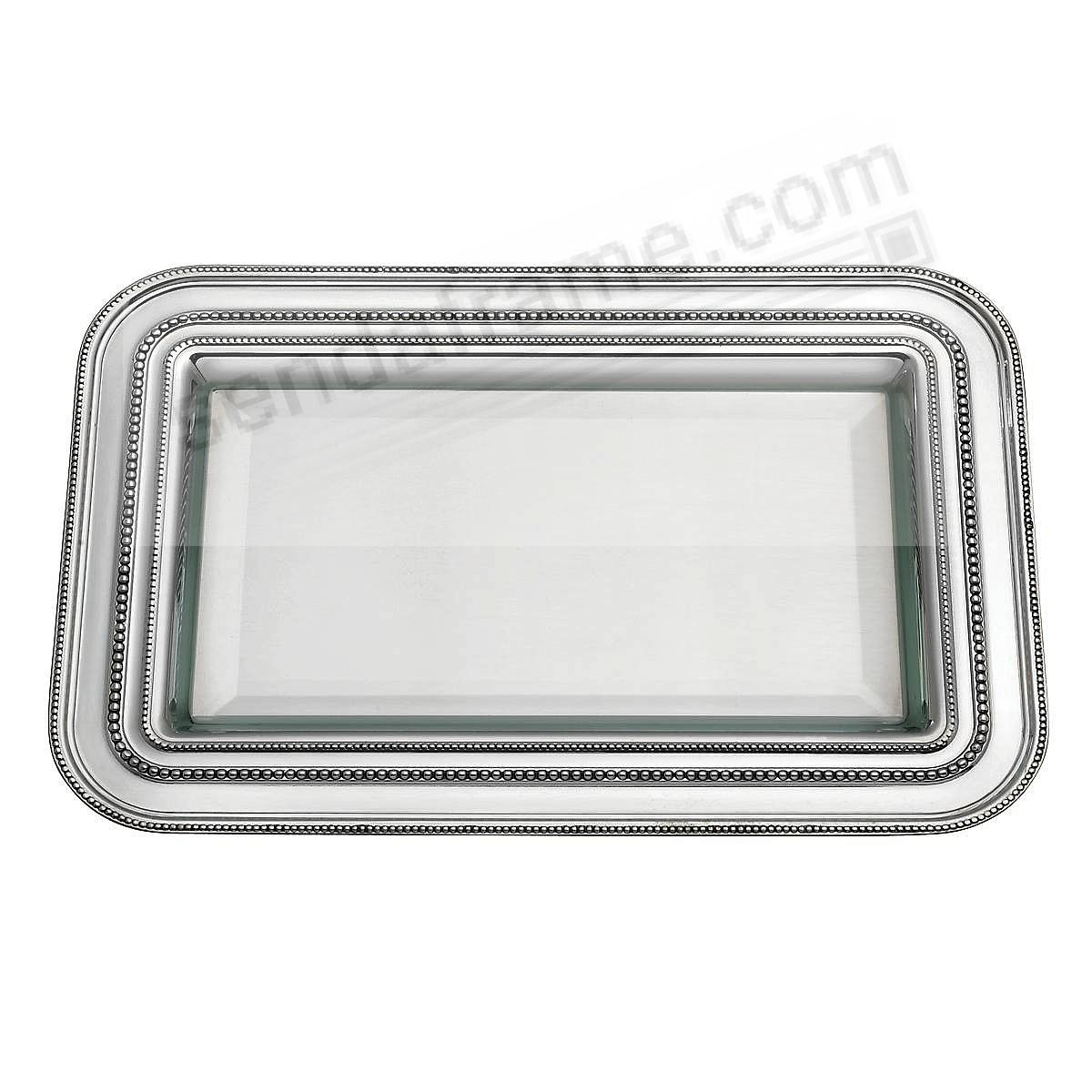 The AUGUST Pewter Tray by REED & BARTON / THOMAS O'BRIEN® - Engraveable!