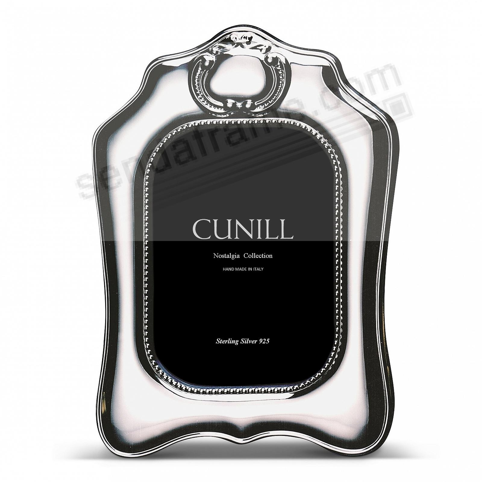 PARTHENIA Pure Sterling Silver Luxe 5x7 frame<br>by Cunill®