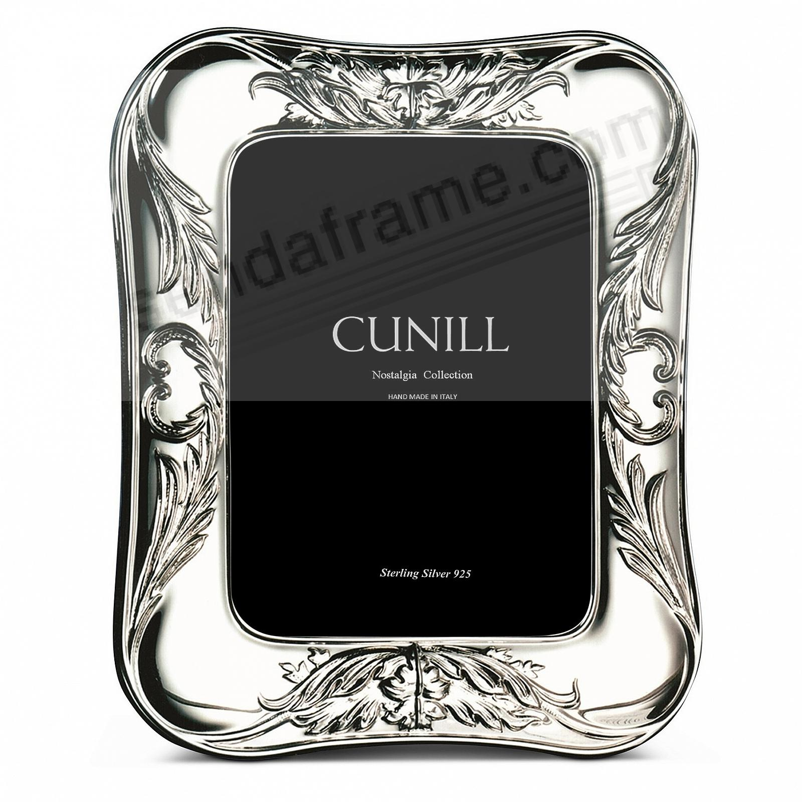 SAVANNAH NOSTALGIA Sterling Silver 5x7 frame<br>by Cunill®