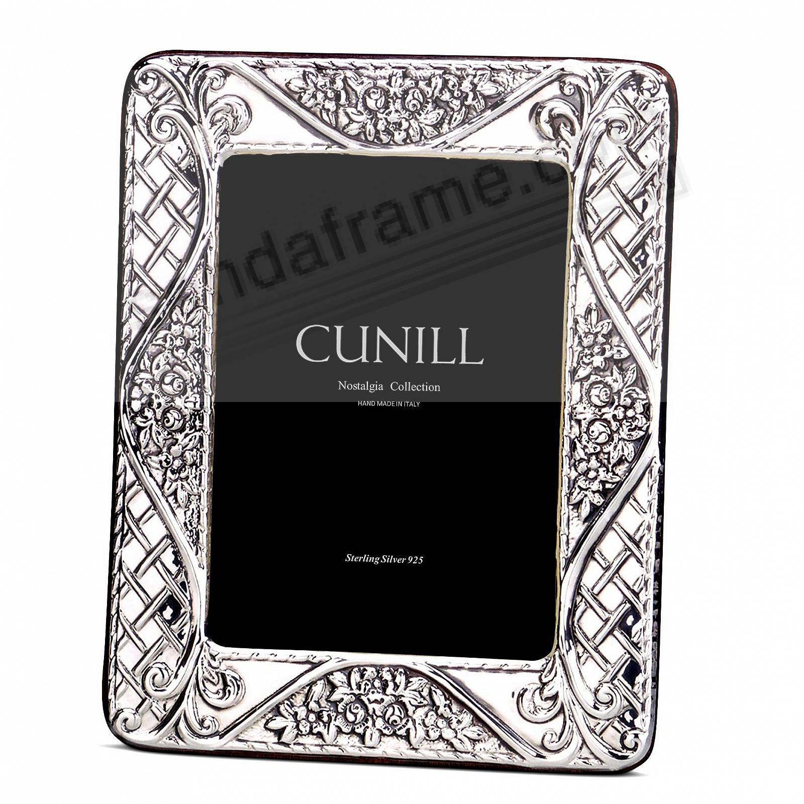 FIORI Sterling Silver Luxe 5x7 frame<br>by Cunill®
