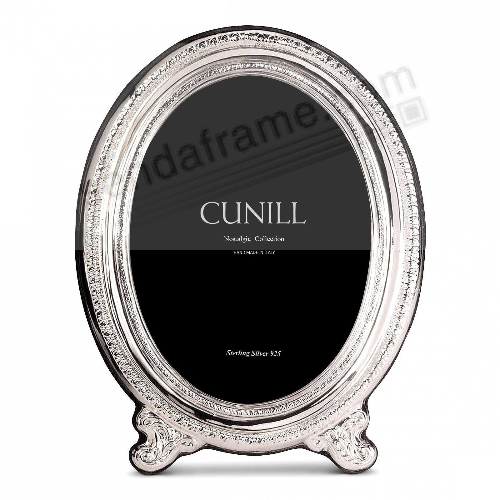 OVALE Sterling Silver 5x7 frame<br>by Cunill®