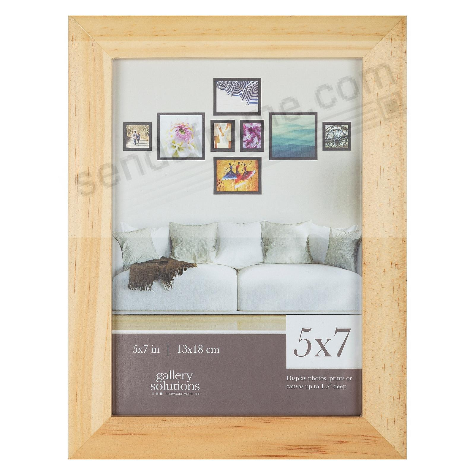 NATURAL GALLERY 5x7 frame by Gallery Solutions®