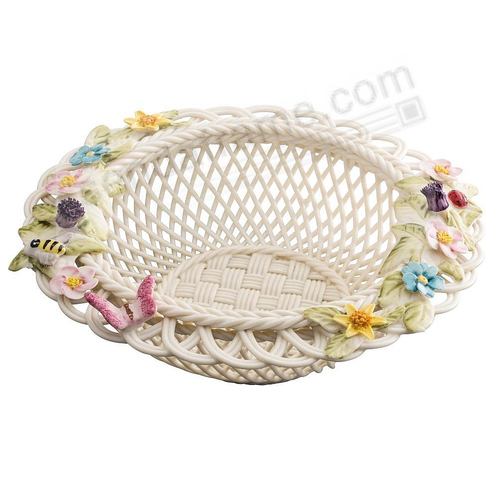 CATALINA FLOWERED 2019 ANNUAL BASKET Irish Porcelain by Belleek®