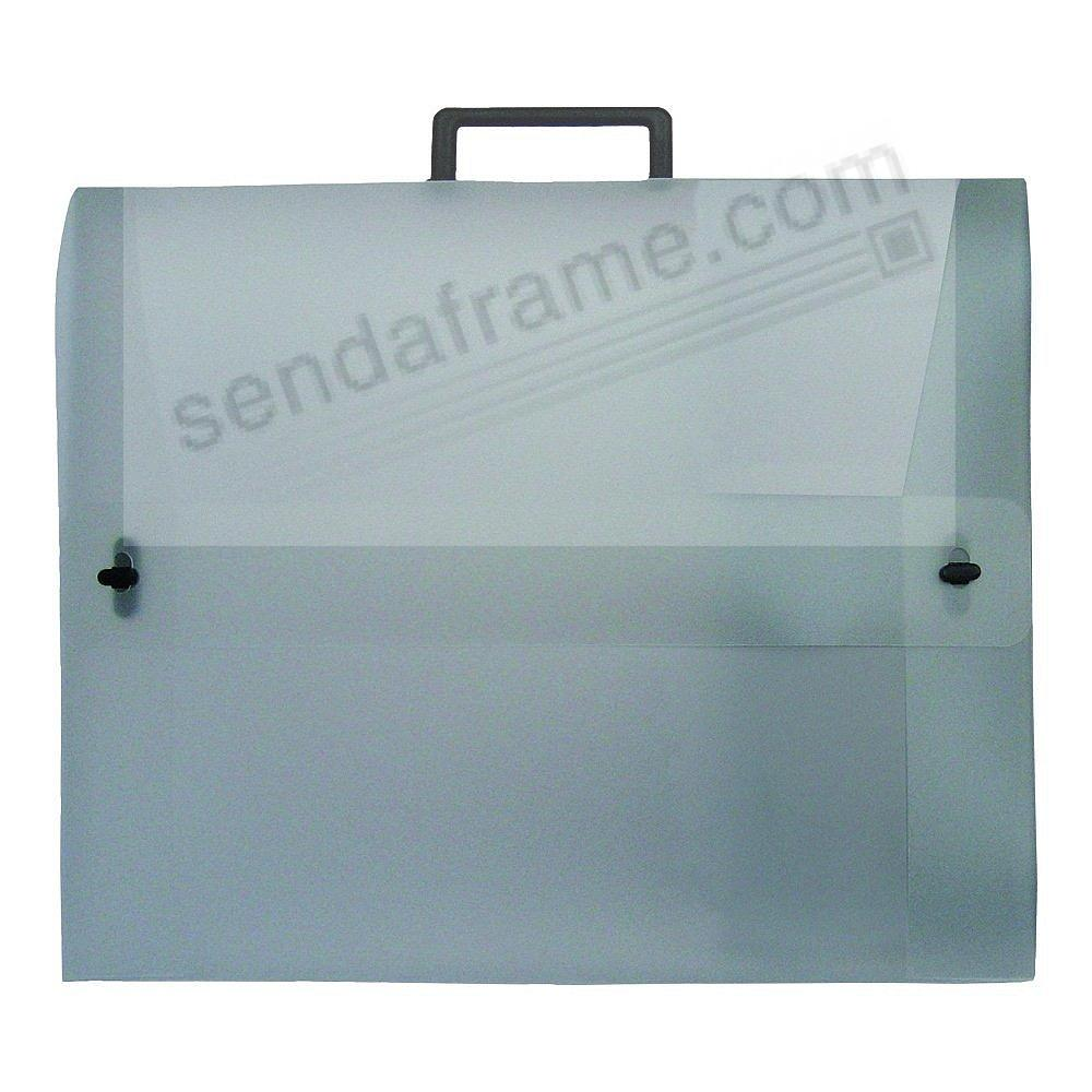The START0 Essential Translucent Portfolio w/Double-Opening 23x31x1.5 by Prat®