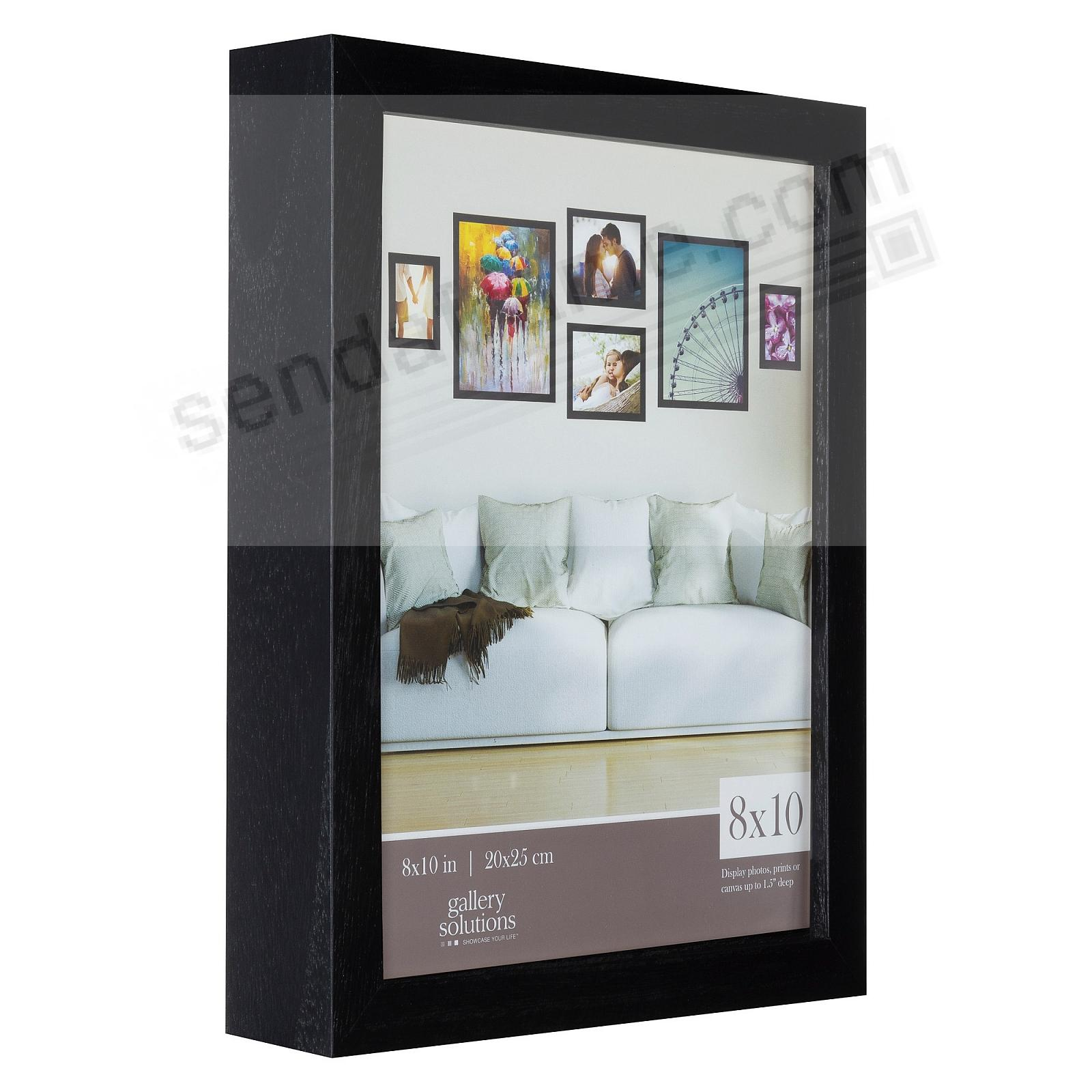 BLACK GALLERY 8x10 frame by Gallery Solutions®