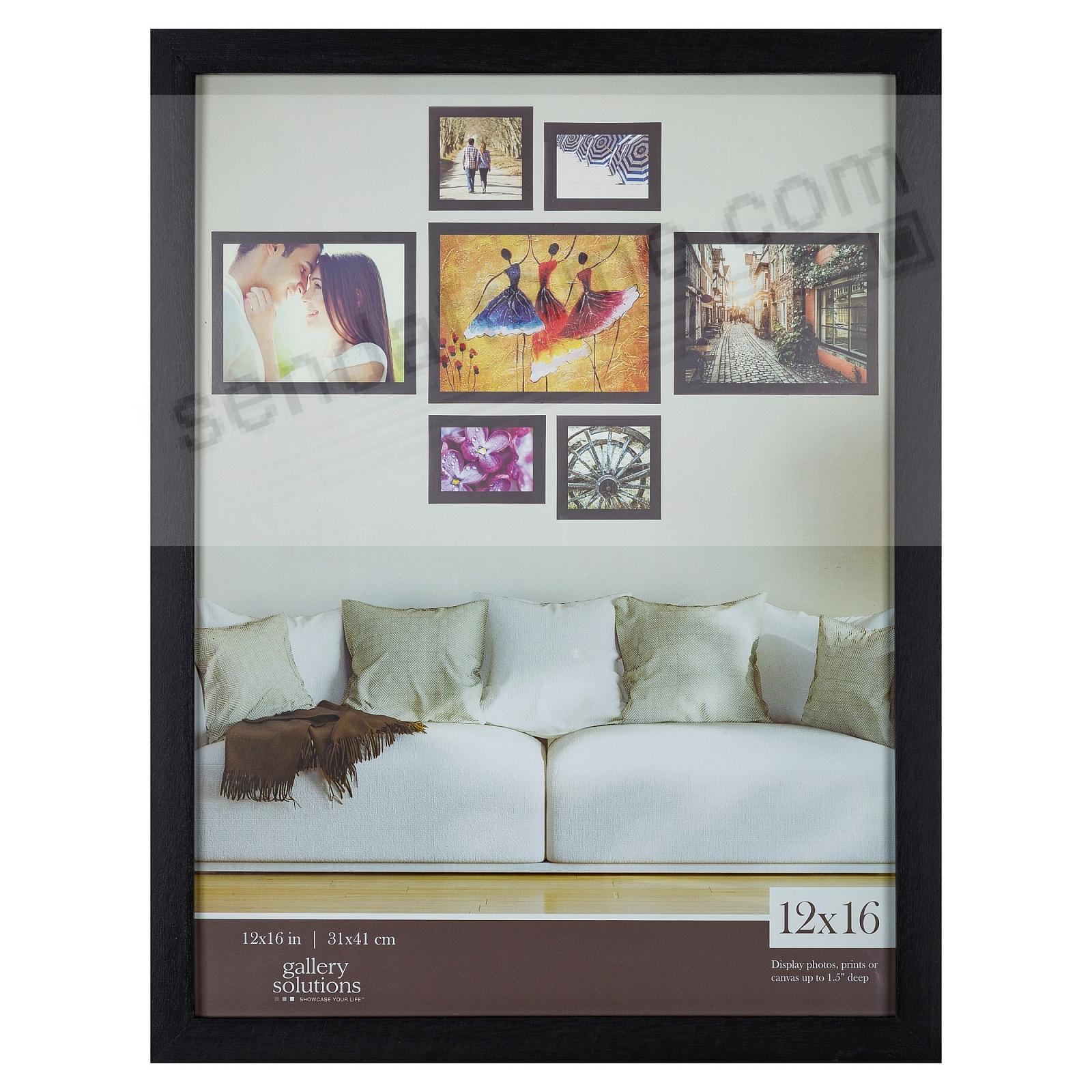 BLACK GALLERY 12x16 frame by Gallery Solutions®