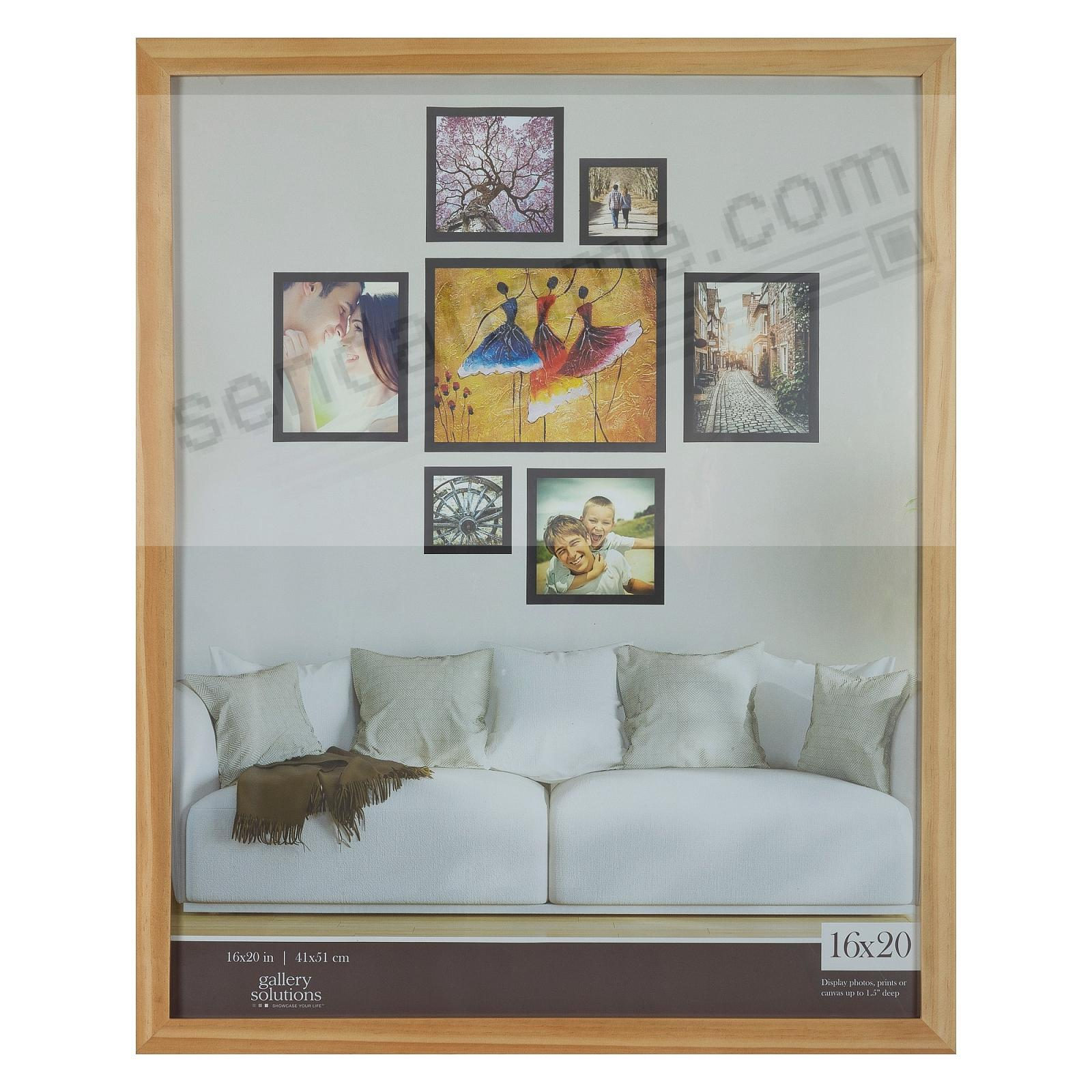 NATURAL GALLERY 16x20 frame by Gallery Solutions®