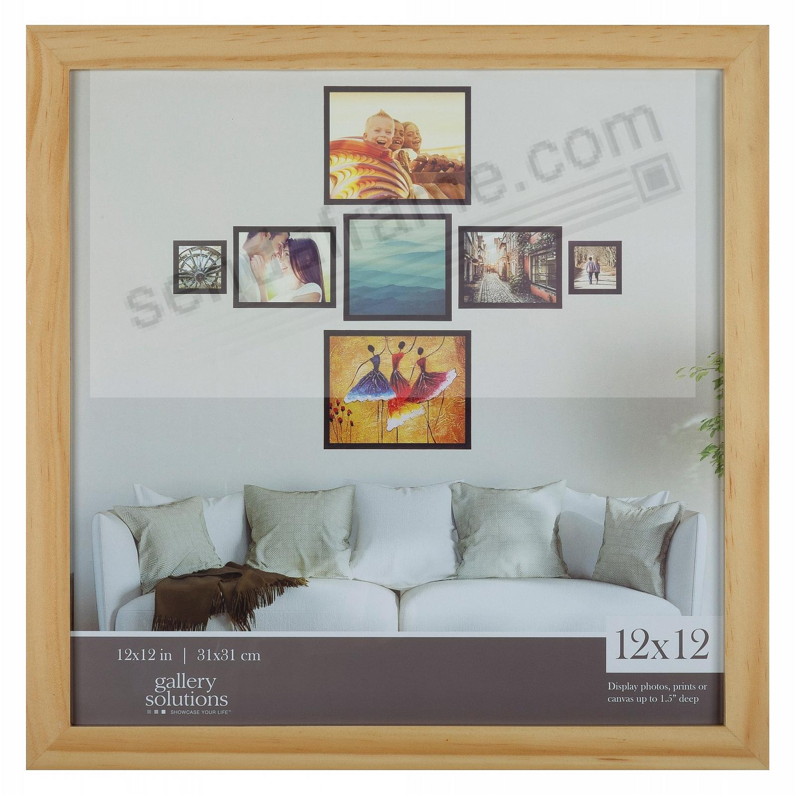 NATURAL GALLERY 12x12 frame by Gallery Solutions®