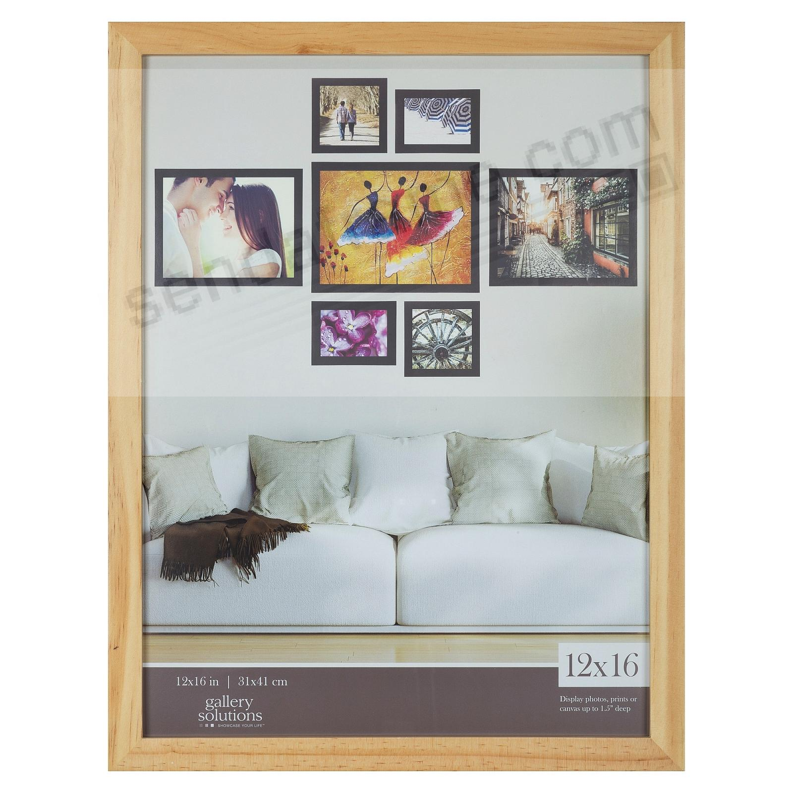 NATURAL GALLERY 12x16 frame by Gallery Solutions®