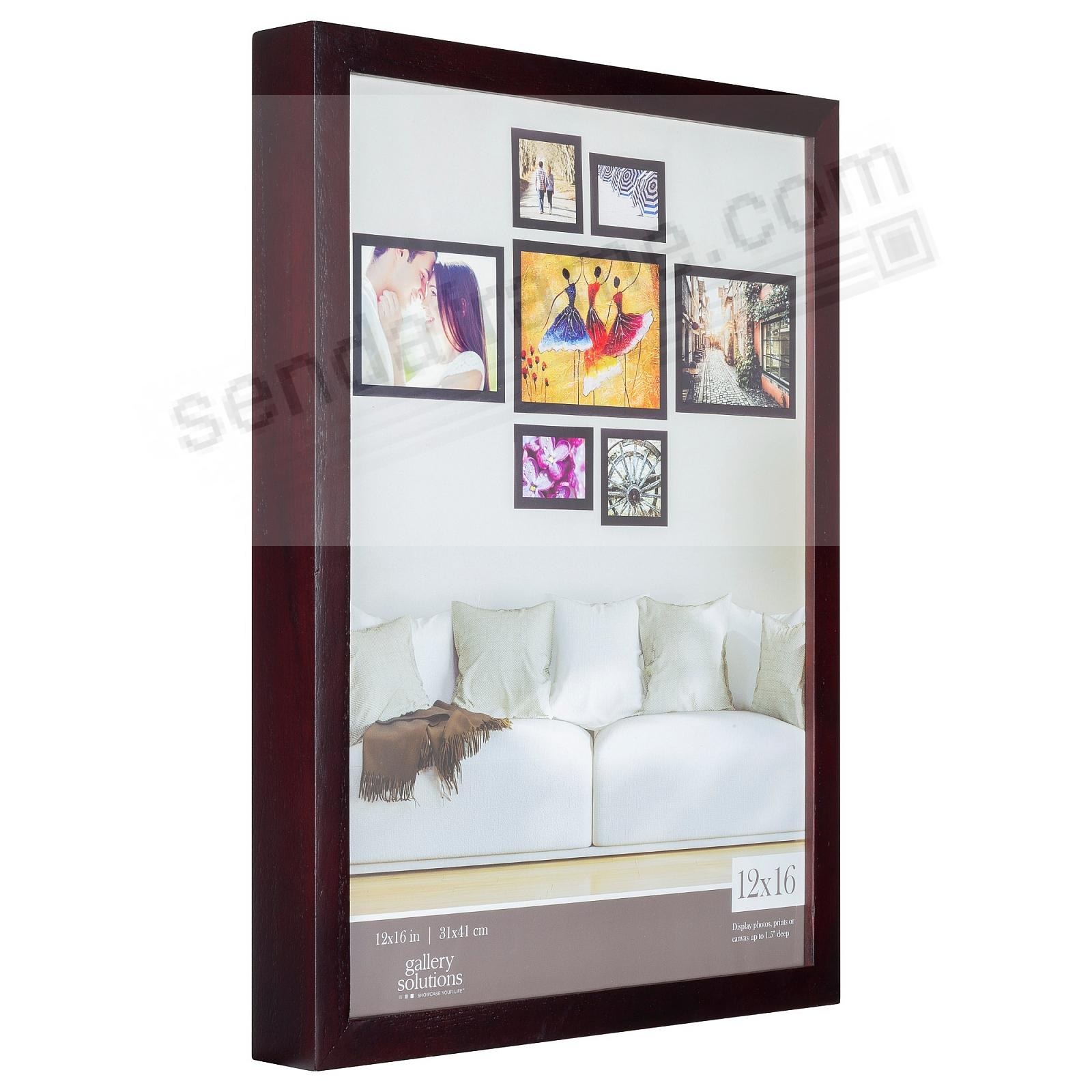 Walnut GALLERY 12x16 frame by Gallery Solutions®