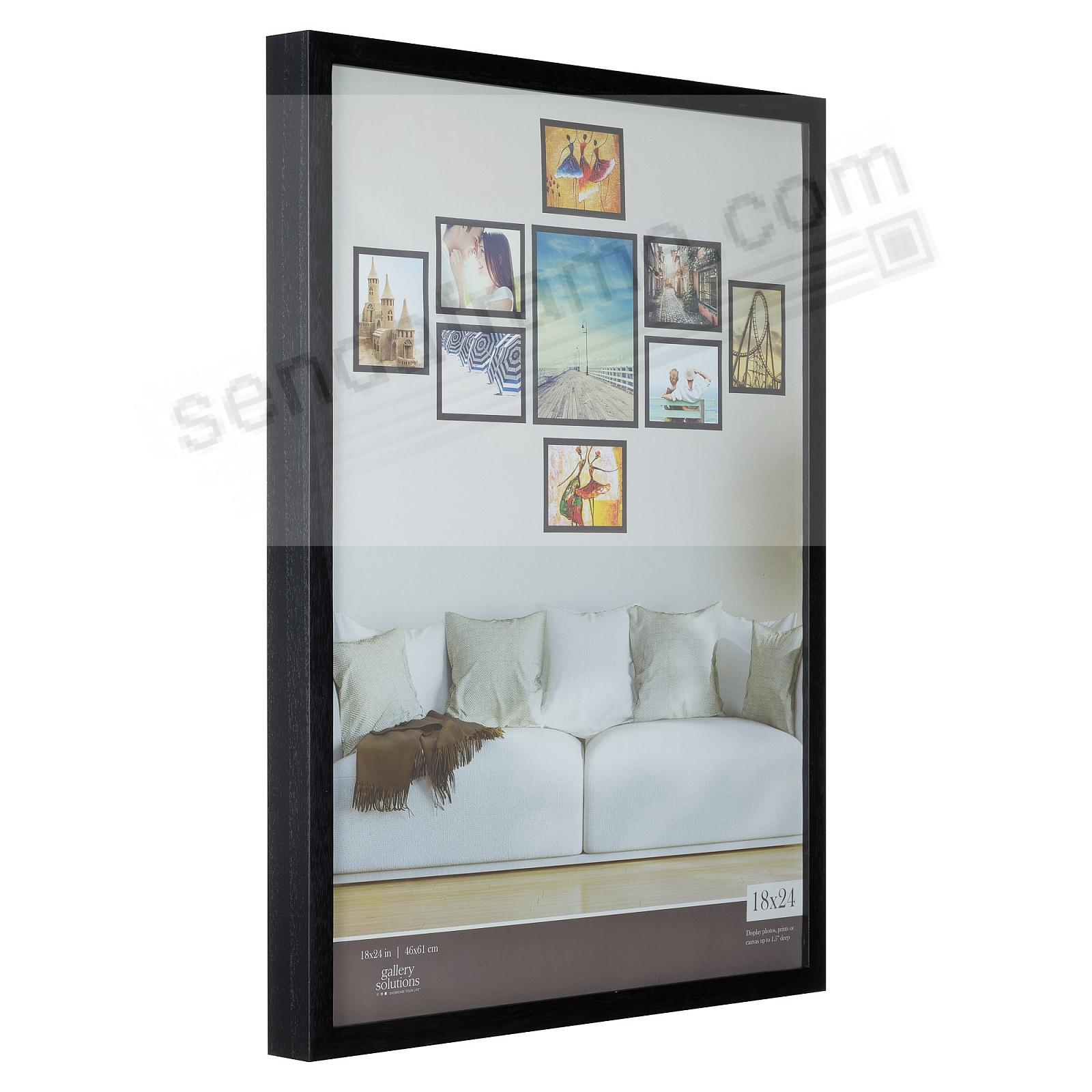 BLACK GALLERY 18x24 frame by Gallery Solutions® (3s)
