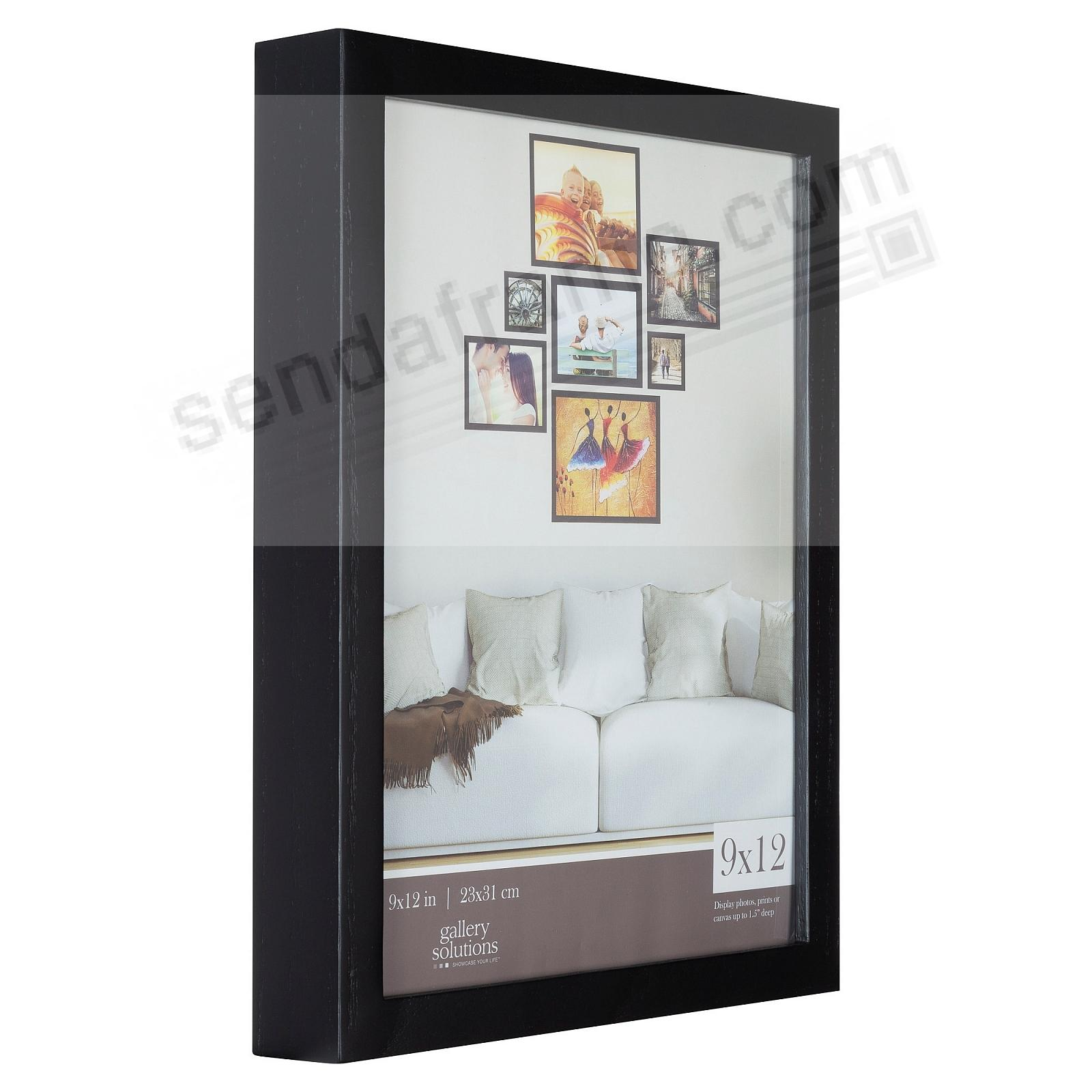 BLACK GALLERY 9x12 frame by Gallery Solutions®